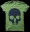skull tee - green